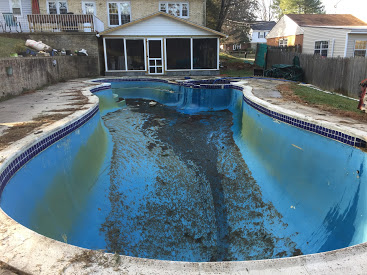 maryland pool removal